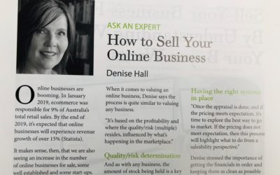 How to Sell Your Online Business…