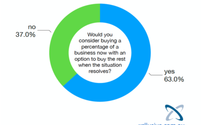 Would a Buyer Consider Buying a Part of your Business NOW, with an Option?