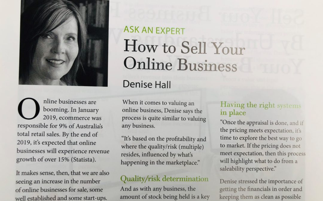 How to Sell Your Online Business