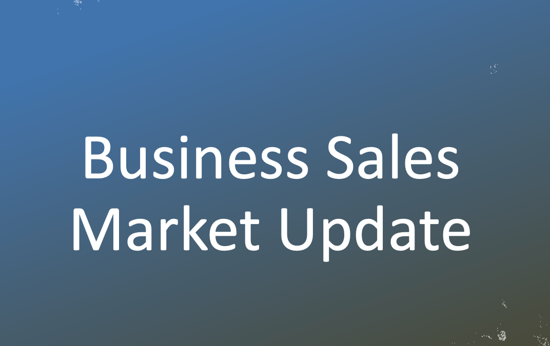 2021 MARCH PRESENTATION – BUSINESS SALES MARKET UPDATE – CPA EASTERN